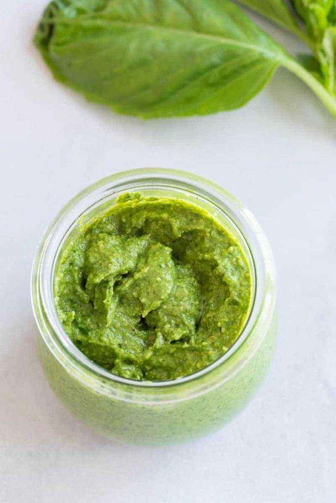 Creamy Basil Pesto Sauce Recipe