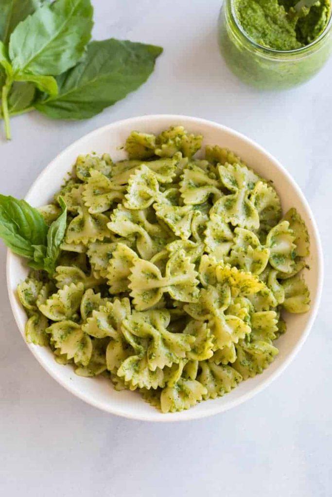Creamy Basil Pesto Pasta Sauce