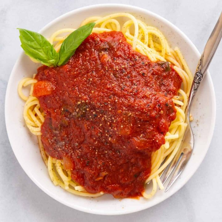 Easy Spaghetti Sauce Recipe Image