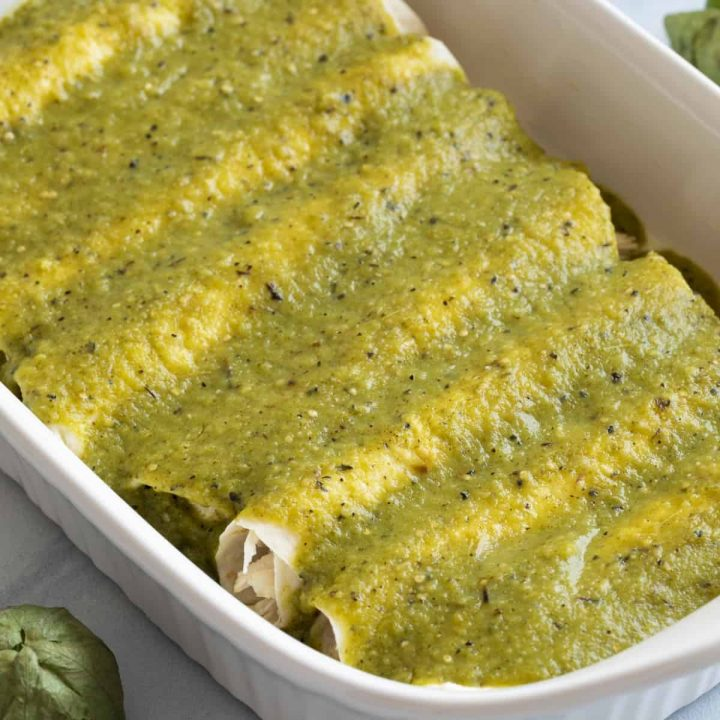 Green Enchilada Sauce Recipe Image